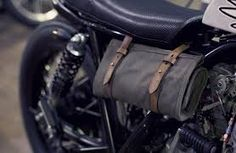 Image result for leather motocycle panniers