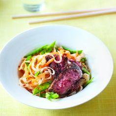 Five-spice beef noodle salad recipe - Chatelaine.com