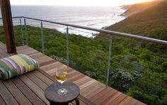 welcome to cliff top houses luxury self catering accommodation in eco nature reserve on the Garden Route West Coast Scotland, Boathouse, Luxury Accommodation, Nature Reserve, Cliff, Garden Bridge, Catering, Villa, Home And Garden
