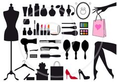 Black and white fashion motifs...http://imgarcade.com/1/kids-fashion-show-clip-art/