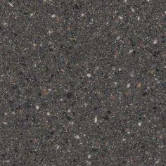 2 in. Solid Surface Countertop Sample in Graphite Granite