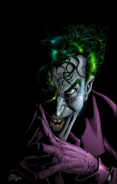 The Joker by Mike Deodato
