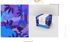 Diseño de empaque e ilustración para cuatro mini estuches de té. Una combinación de aromas y sabores que inspiran una gráfica tan colorida. 4 sabores diferentes, 4 colores que expresanpsicológicamente una emoción. /Design packaging and illustration for …