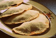 BasJulowe pasje czyli Basia i Julka w kuchni: Calzone z warzywami