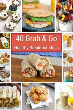 Grab And Go Breakfast, Health Breakfast, Healthy Breakfast Recipes, Healthy Snacks, Healthy Recipes, Quick Breakfast Ideas, School Breakfast, Healthy Breakfast On The Go For Kids, Snack Recipes