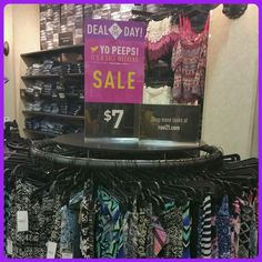 DEAL OF THE DAY! TODAY ONLY! MAXI SKIRTS $7! Our entire store is on sale! Come in and check out all the deals!  It's also a double Rue Bucks weekend!  Earn TWO Rue Bucks for every $40 you spend that tog can redeem April 9-19! #dealoftheday #maxiskirts #fashion #fragrance #doubleruebucksweekend #yopeeps #entirestoreonsale #bogodeals  #clearance #rue21 #ruelove #1280rocks
