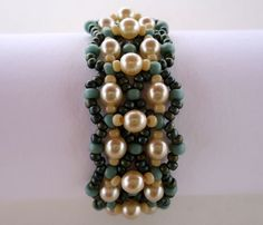 Tutorial Las Perles Bracelet  Bead pattern PDF by Ellad2 on Etsy, $5.00