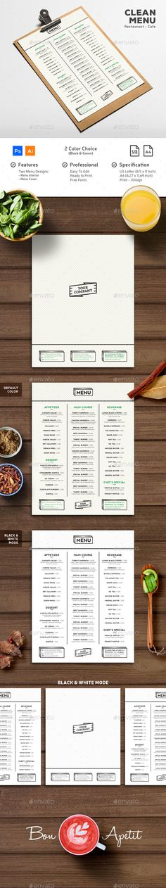 Summer Food Menu Template PSD, AI Best Food Menu Templates - food menu template