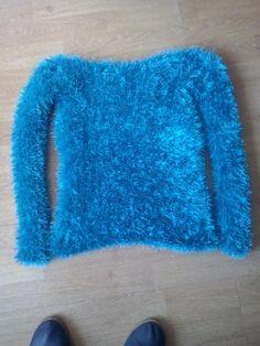 Camisola com lã de pelinho