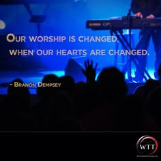 Join Worship Team Training for daily posts to encourage and provide practical insights for you and your team!  #BranonDempsey Twitter: https://twitter.com/branondempsey #WorshipTeamTraining Twitter: https://twitter.com/WorshipTT  LIKE & SHARE: WTT eNews Subscribe: http://buff.ly/1g7JIwb  Learn practical more skills and tips: •Book http://www.worshipteamtraining.com/store  Inspire Your #Worship  http://www.worshipteamtraining.com/Registration