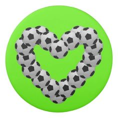 Heart of Soccer Ball Euro Futbol Love Eraser - valentines day gifts love couple diy personalize for her for him girlfriend boyfriend