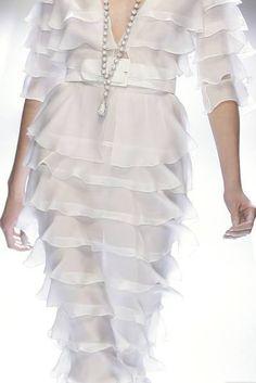 #white #dress #fashion