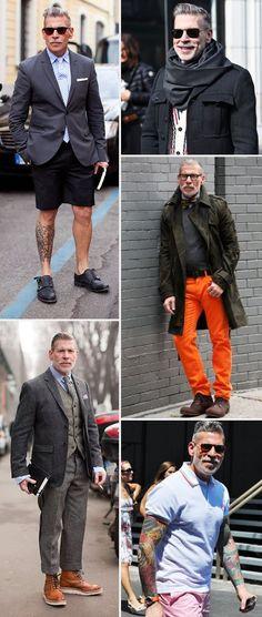 Provavelmente o cara mais estiloso do mundo – Cris GuerraHoje Vou Assim