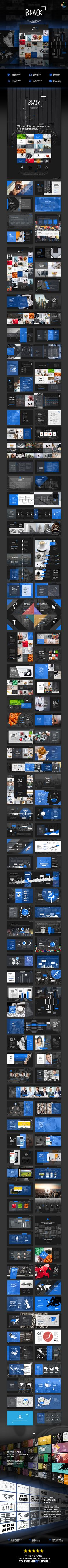 Black - PowerPoint Template
