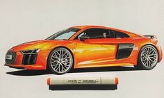 Работа от @ozgunuslan  #sketch #sketching #art #autodesign #machine #auto #car #cardesign #скетч #арт #авто #скетчинг #autosketch #markercketch
