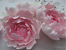 Лепка. Шикарные цветы из сахарной мастики для украшения тортов.  мастер- классы- часть 2