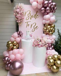 Balloons Galore, Pink Balloons, Baby Shower Balloons, Birthday Balloon Decorations, Christmas Door Decorations, Wedding Decorations, Backdrops For Parties, Balloon Garland, Pink Christmas