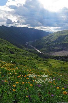 Svaneti, the mountainous paradise of Georgia. The main places he visited were Adishi and Ushgulivanetia 9