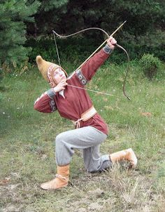 Scythian archer. By Dregowia