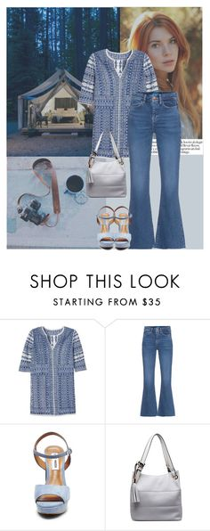 """""""Summer Glamping"""" by soniamazeto ❤ liked on Polyvore featuring Love Sam, M.i.h Jeans, Steve Madden and MKF Collection"""