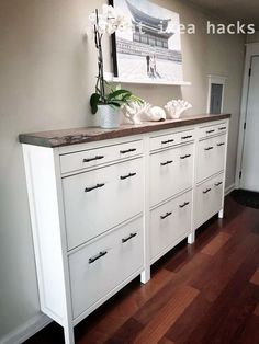 IKEA HEMNES Shoe cabinet hack , , You are in the right place about decoration salon murale Here we offer you the most beautiful pictures about the decoration salon canape you are looking for. When you examine the IKEA HEMNES Shoe cabinet hack , , … Hallway Storage, Ikea Storage, Bedroom Storage, Diy Bedroom, Ikea Hallway, Ikea Entryway, Hallway Ideas, Entryway Ideas Shoe Storage, Shoe Storage Mudroom
