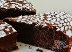 chute a vône mojej kuchyne. Chocolate Cake, Tiramisu, Nutella, Brownies, Food And Drink, Gluten Free, Sweets, Healthy, Desserts