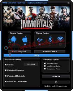 http://hack-cheats.over-blog.com/2016/09/wwe-immortals-hack-tool.html