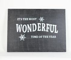 Christmas Sign  Christmas Decor  Christmas by InspiredByGiving, $75.00