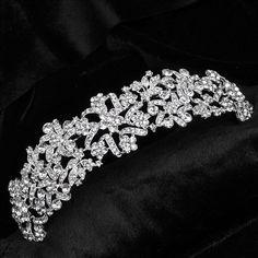 Sposa diademi e corone di nozze gioielli testa Principessa Wedding Tiara Sposa Capelli Copricapo Corona monili dei capelli