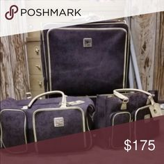 """DVF Studio Luggage 28"""" suitcase with rolling tote bag and carry on bag. In great condition. Only used a few times. Diane von Furstenberg Bags Travel Bags"""