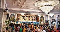#Mayapur on the occasion of #Janmashtami is disguised