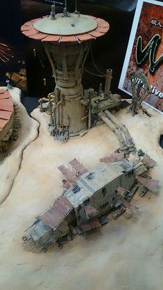 Lamp transformation from sucker-pods Warhammer Terrain, 40k Terrain, Wargaming Terrain, Star Wars Rpg, Lego Star Wars, Star Wars Toys, Imperial Assault, Star Wars Models, Sci Fi Models