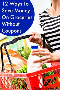 Don't have time to coupon? These 12 tips will help you save money on groceries without couponing. Simple changes can add up to big savings on your grocery costs.