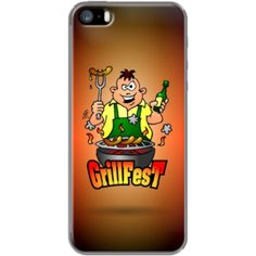 GrillFest By CardVibes for Apple iPhone 5/5s #TheKase #Cardvibes #Tekenaartje #iPhone #Smartphone #cover #case