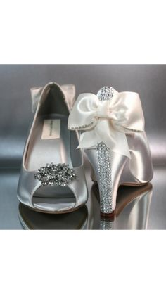 Wedding shoes - very nice with short heel