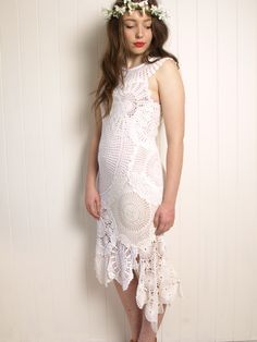 free pattern - the $20 crochet lace doily Wedding Dress - Kitsch Bitsch