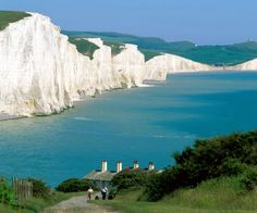 Seven Sisters Cliffs, England... I hear these are even better than the Cliffs of Dover in Ireland! Must see!!!!