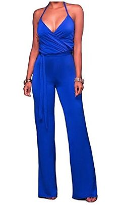 Winwinus Womens Lace Splice See Through Oversize Jumpsuits Rompers