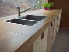 Design keuken op maat Dining Rooms, Kitchens, Sink, Design, Home Decor, Sink Tops, Vessel Sink, Decoration Home, Room Decor