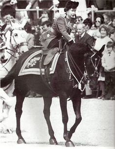 1981: Queen shot at by youthA 17-year-old man was arrested for shooting a replica gun at the Queen as she rode past crowds on horseback. Marcus Serjeant pointed a pistol directly at the Queen as she turned down Horseguards' Parade for the start of the Trooping the Colour ceremony. He fired six blank cartridges before being overcome by a Guardsman and police. The shots, which came just before 1100BST, startled the Queen's horse, but she was able to bring it back under control within a