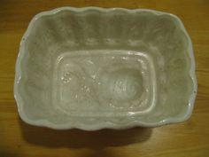White Ironstone Pudding Mold English Ironstone  Mold Ironstone Jelly Mold. $60.00, via Etsy.