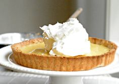 Sugar Free Lemon Tart by www.sweetashoney.co.nz #sugarfree #lemon #glutenfree #dairyfree
