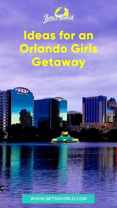 """Who does not need some serious """"me"""" time? Getting away with some of your best gal pals for some relaxation, laughter, and food is always good medicine. And what better place to plan a girls getaway than Florida! So read on for some great ideas for an Orlando girls getaway! . . . . . . . // florida travel // orlando vacation ideas // trip // vacation // travel destinations // girls trip destinations // #vacation #travel #floridavacation Orlando Travel, Orlando Vacation, Florida Vacation, Florida Travel, Vacation Trips, Vacation Travel, Vacation Ideas, Girlfriends Getaway, Girls Getaway"""
