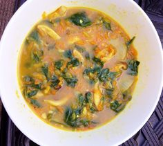 Easy Recipe: Immune Soup (Paleo) - Mary Vance, NC  Great for a winter day!