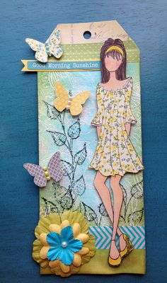 Julie Nutting stamp from Prima WWW.the-inspiration-station.com Inspiration Station Stafford Springs, CT