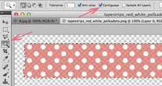 Ruche: Picture This: Digital Washi Tape