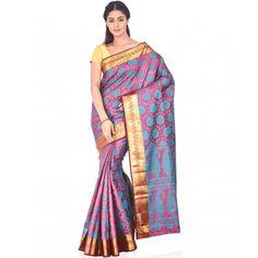 Ankisha Pink Banglore Silk Saree