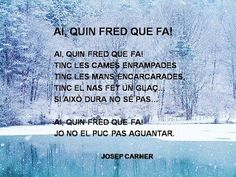 Ai quin fred que fa Social Security, Printables, Ha, Spanish, Winter, Youtube, School, Picasa, Infant Activities
