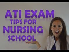 This video discusses how to study & pass the ATI comprehensive predictor exit exam. Also, this video explains how to interpret your scores which will predict. Nursing Classes, Nursing School Notes, Icu Nursing, Nursing Tips, Lpn Schools, Online Nursing Schools, Accelerated Nursing Programs, Fundamentals Of Nursing, Exams Tips