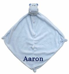 Sweet and charming, machine-washable and cashmere-soft. A Little Bit Of This Cashmere Soft Blue Hippo Blankie. Click the image to get more information about the product, including personalization options, at our online store!
